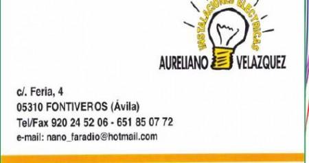 AURELIANO VELAZQUEZ