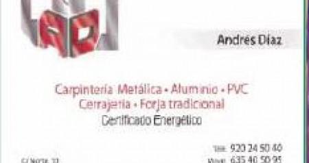 CARPINTERIA METÁLICA ANDRES DIAZ