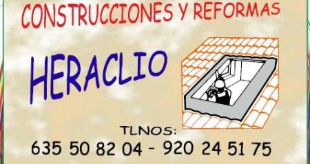 CONSTRUCCIONES Y REFORMAS HERACLIO