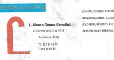L. ALONSO GÓMEZ GONZÁLEZ