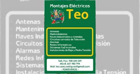 MONTAJES ELECTRICOS TEO